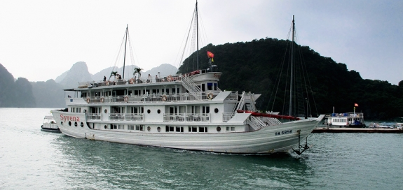 Photo of boat in Halong Bay