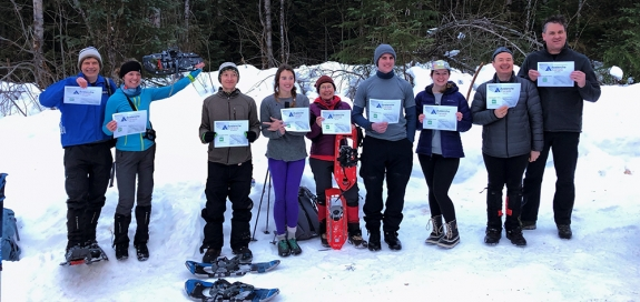Photo of Avalanche Course Graduates