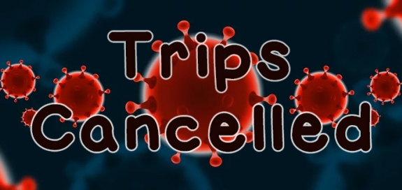 Trips cancelled notice