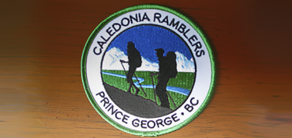 Caledonia Ramblers Badge