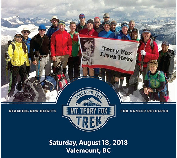 Terry Fox Trek Poster